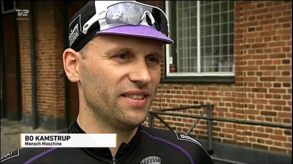 Bo Kamstrup medvirker i TV2 på Tour. Foto: TV2