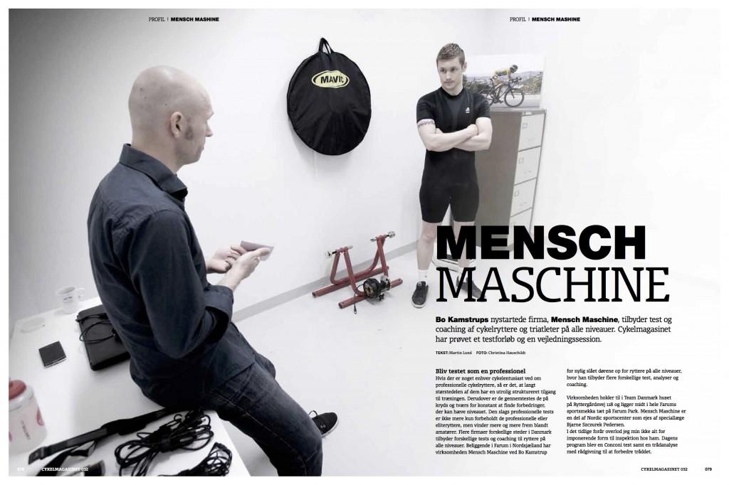 Bo Kamstrup har flere gange medvirket i artikler i Cykel Magasinet.